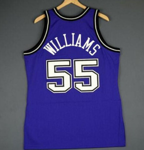 Özel Erkekler Gençlik kadınlar Vintage Jason Williams Mitchell Ness 98 99 Koleji basketbol Jersey Boyut veya özel herhangi bir ad veya numara formayı-6XL S