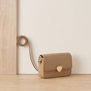 il trasporto libero Genuine Leather Shoulder singolo pacchetto Armpit Borsa donna concisa piccola piazza le donne delle borse 2020