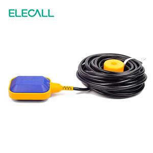 ELECALL 12M 컨트롤러 플로트 스위치 액체는 액체 유체 수위 플로트 스위치 컨트롤러 접촉기 센서 스위치