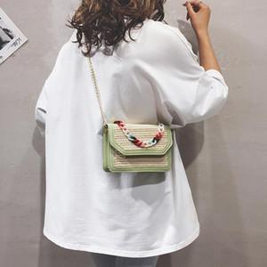 Дизайнер-OCARDIAN сумки 2019 новый дизайн мода женщины симпатичные красочные цепи переплетения кожа Crossbody сумка Ручка сумки bolsa feminina June5