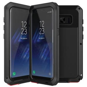 Proteção completa armadura de metal heavy duty proteção case à prova de choque capa para iphone xs max xr x 8 7 6 plus samsung galaxy s10 e s9 s8 nota 9