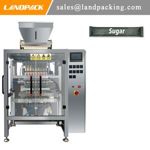Machine à emballer de granule de bâton de ruelle multi de machine à emballer automatique de sucre brun de Multi-Lanes