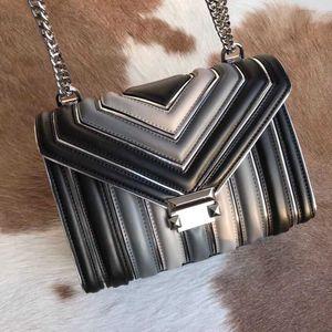 2019 Hot Sale Fashion Women Shoulder Bags Classic Gold Chain Bag 24cm Gradient Ramp Women Handbag Tote Bags Messenger Handbags