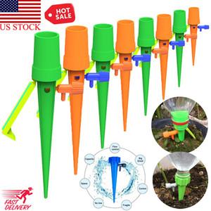 DIY Otomatik Sulama Sulama Spike Bahçe Tesisi Çiçek Damla Yağmurlama Su Damla sulama sistemi Bitki Waterers Dropship