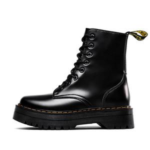 Dr chaussures Designer femmes hommes doc 1460 bottes martin luxe plateforme de mode martins botte chaussures bottes Botas Livraison gratuite noir blanc