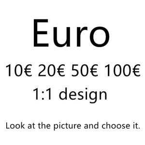 Новый топ реквизит евро деньги банкнота поддельные USD 100 игровые деньги нормальный размер 1: 1 доллар банкнота детский творческий подарок фильм деньги