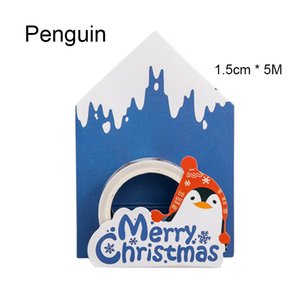 2016 Christmas Series I Paper Tapes Mini Portable Decorative Beautification Album Diary Student Supplies Gift Box