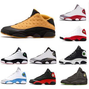 Низкая чатни кепка и платье 13 мужская баскетбольная обувь плей-офф класс 2002 года 13s Phantom Chicago Altitude Bred он получил игровые спортивные кроссовки