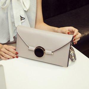 가방 손 뉴 체인 단일 핸드백 슬랜트 어깨 봉투 패션의 작은 한국어 버전 봉투 패션 간단한 grab 여자 qcggo