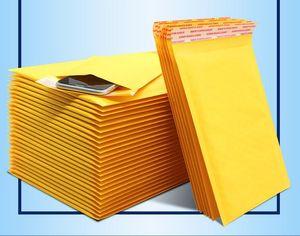11 * 13 Kraft Bolla mailing borse bollettini borse di trasporto giallo imbottito buste a prova di acqua Poly Bubble bollettini Self Seal Mailing buste