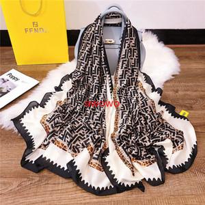 Классический большой буквы леопарда 100% шелковые шарфы супер мягкий пляж ВС резистентных шелк шаль шарф для женщин благородной роскоши оголовье шарф