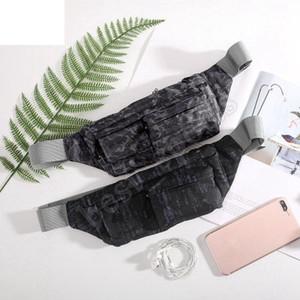 Extérieur poitrine Camouflage Sac mode Imprimer Sacs à bandoulière unique étanche multifonctions Téléphone Waistpack Randonnée Sport Sac de taille ZZA1072
