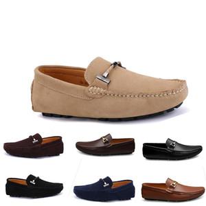 2020 nuevos hombres zapatos casuales alpargatas redonda de color amarillo castaño oscuro aliento rojos de Bowtie piel entrenador de envío ol48 triple de la zapatilla de deporte para caminar