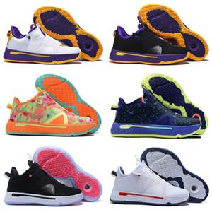 Paul George PG 4 Çocuklar Açık Ayakkabı Sneakers Gatorade NASA Fermuar Yakınlaştırma Erkekler Man Grey 4s Spor 2020 Yeni Geliş Zapatos Eğitmenler Ayakkabı x