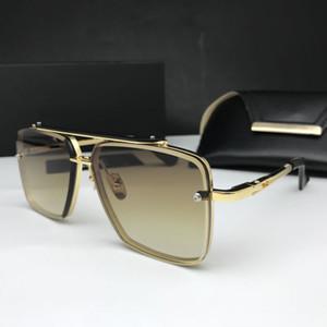 경우 상자 남여 패션 금속 태양 안경은 DT 안경을 운전 무료 배송 최고 품질 남성 여성 선글라스 마하 여섯 안경