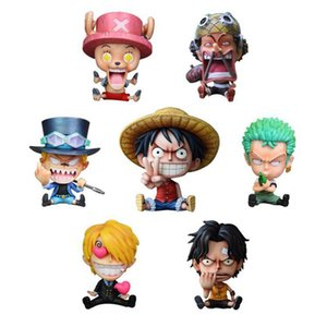 10cm One Piece DX Luffy Ace Brotherhood Anime Cartoon 2 ans plus tard action PVC Figure Jouets Cartoon Bataille Ver modèle Poupées