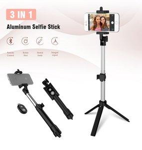 bluetooth Selfie Stick Stative Bluetooth Timer selfie Einbeinstative Ausziehbare Selbstporträt Remote-Stick für Android Smartphones Iphone