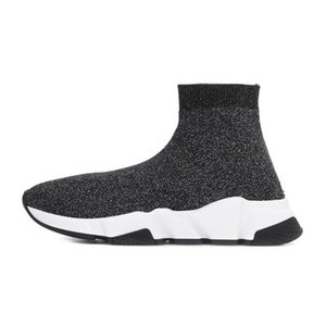 Balenciaga sock shoes 2019 ACE Designer casual sock Shoes Speed Trainer Black Red Triple Black Fashion Socks Sneaker Trainer casual shoes 36-45
