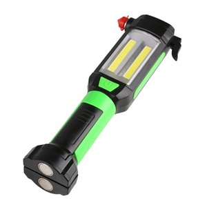 Climbing Emergency Work Light Portable COB LED Magnetic Multi Use Outdoor Super Bright Camping USB Charging Car Repair Hiking