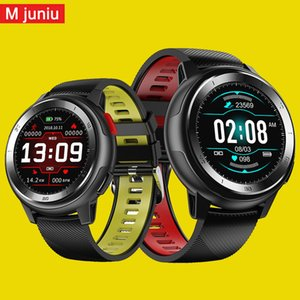earable Devices Smart-Uhren DT68 Smartwatch IP68 wasserdichte Armband 20 Dial-Uhr Gesichter Fitness Tracker Nachricht Push-bluetooth Männer wom ...