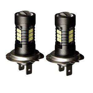 LED Car Bulbs H7 21 SMD 3030 Super Bright Auto Led Bulb Lamp 6000K Fog Light Cars Driving Lamp DRL
