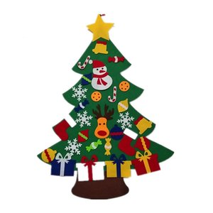 Promotion! Felt Christmas Tree for Kids 3.2Ft Diy Christmas Tree with Toddlers 30 Pcs Ornaments for Children Xmas Gifts Hanging