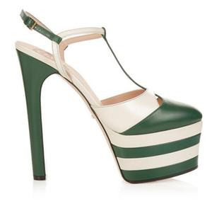 Горячая распродажа-тенденции обуви от Spring t-starp platform шипованные насосы для женщин модные высокие каблуки с золотым животным