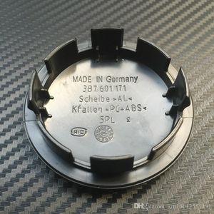 VW 로고 배지 엠블럼에 대한 20PCS의 65mm 자동차 휠 센터 캡 허브 캡 커버 3B7601171 3B7 (601) (171) 자동차 스타일링
