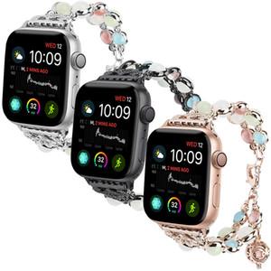 Bracelet de montre pour femme Luminescence pour Apple Watch 38mm 42mm 44mm Bandes 40mm Bandes iWatch Series 4 3 2 Night Light Bracelet