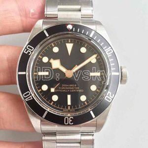 Горячие SaleTudorrr роскошные мужские часы из нержавеющей стали автоматические HERITAGE BLACK BAY ROTOR MONTRES дизайнерские мужские часы механические наручные часы