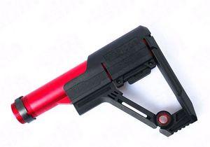 AR15 전술 watergun 장난감 M4 나일론 주식에 대한 야외 스포츠 현실 CS SBR 나일론 후면 재고