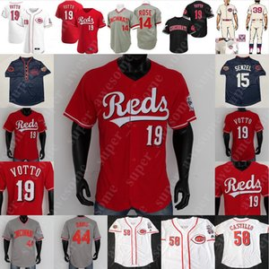 Johnny Bench Jersey Pete Rose Barry Larkin Chris Sabo Deion Sanders, Tony Pérez Adam Dunn Eric Davis, Frank Robinson, Joe Morgan Eppa Rixey