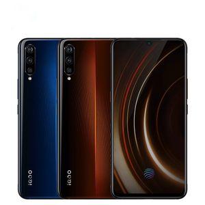 "Cellule d'origine VIVO IQOO 4G LTE Phone 8 Go RAM 128 Go 256 Go ROM Snapdragon 855 Octa base Android 6.41"" 13.0MP ID d'empreintes digitales Smart Mobile Phone"