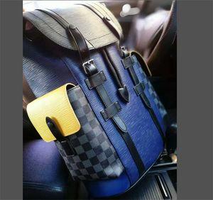 LOGO Unisex mochila diseñador mochilas de lujo con textura de alta calidad bolsos de moda NEVERFULLL 2020 hombres mujeres bolsa