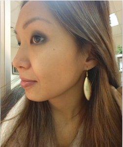 Atacado Marca de Ouro Grande Metallic Teardrop Brincos para Mulheres Moda Prata Rose Gold deixa brincos Jóias Hook
