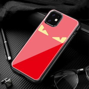 Luxury Fashion Devil eyes Glass Designer Phone Cases for IPhone 11 Pro X XS MAX XR 7 8 Plus Protect Shell Cellphone Case Back Cover