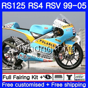 RS125R لـ Aprilia RS 125 1999 2000 2001 2002 2003 2005 318HM.2 RSV125R Not top race RS4 RS-125 RSV125 R RS125 99 00 01 02 03 04 05 Fairing