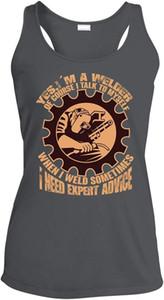 TSDFC Un saldatore assorbimento dell'umidità Canotta, io sono un saldatore T maglietta shirt unisex uomini donne