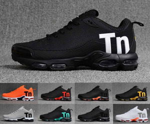 mercurial TN plus mens designer running shoes 2020 men women casual dress zapatos black blue grey orange trainers sports sneakers 36-46