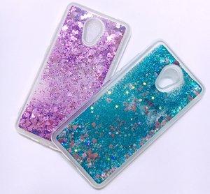 Meizu M5 M6 Note Custodia Cover Glitter Liquid Quicksand Cassa del telefono per Funda Meizu M5 M6 M5S MS6 M3S MX6 M3 Note Caso Capa Donne