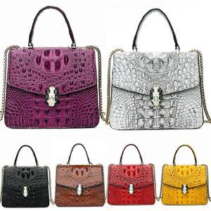2020 Hot Famous Classical Designer Crocodile Shoulder Bag High Quality Women Bags Bolsas Feminina Clutch Brand Bags#655