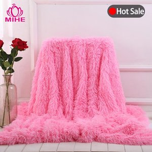 Rectangle Flannel Blanket Super Warm Soft Weighted Blankets Throw On Sofa Bed Plane Travel Blanket For Beds Mechanical Wash MT02