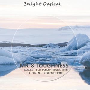 1.61 MR-8 Yüksek Kalite Dayanıklılık Tiner Süper Sert Optik Lensler BeLight Asferik Objektif (Punch / Dip / Trim için öner)