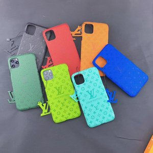 Neue Designer-Telefon-Hüllen-Abdeckung für iPhone 11 11Pro Max Xs Xr 7 8 Plus Fall L Buchstabe-Drucken Luxus Leder-Telefon-Kasten