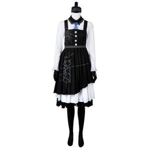 Cosplay Danganronpa 3 uccisione Harmony Kirumi costume Tojo Maid Dress Cosplay set completo costume di Halloween Costume di Carnevale