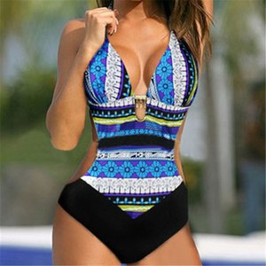 Natação Womens Glane traje acolchoado Swimsuit Monokini Swimwear Push Up Bikini Define Reino Unido