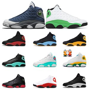 Flint 2020 13 Top Quality Luky Green Air mens womens Basketball Shoes 13s Playground Retro Bred Sneakers Sports mens Trianers size 13