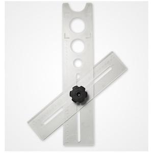 Tile punching Fixateur Stellungs Anfasvorrichtung Orifice Locator Universal-Multifunktions-Tile Öffnungs Locator