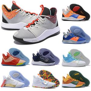 2020 Yeni Paul George 3s PG 3 NASA Apollo Görev Basketbol Ayakkabıları Ucuz ABD Palmdale 93552 P.George PG3 III Sneakers Boyut 40-46