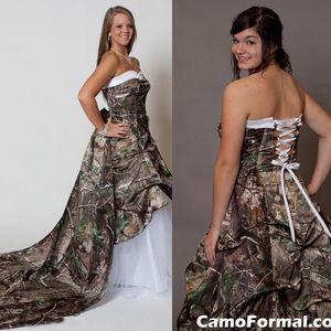 Gorgerous Camo Свадебные платья Line Милая Свадебные платья невесты платье плюс размер сшитое Свадебные платья